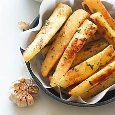 Fried Yucca Sticks