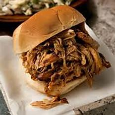 BBQ Jerk Pork Sandwich