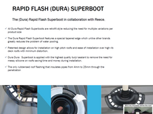 Rapid Flash Dura Superboot