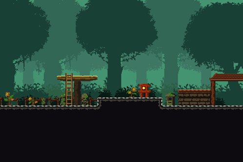 Temple & Forest