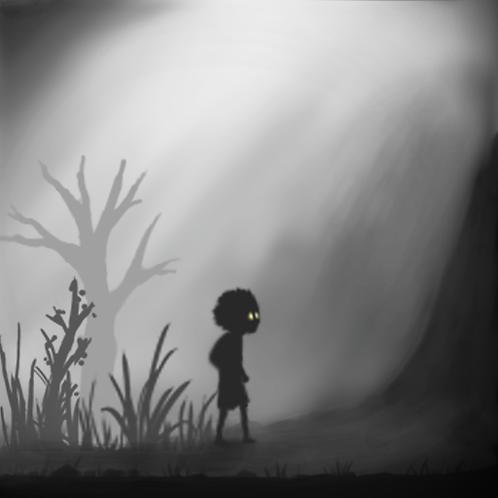 Limbo Style Art