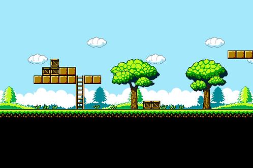 NES Scene 1 Tile