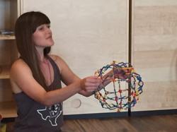 Bliss Kid Yoga's Katherine Banker
