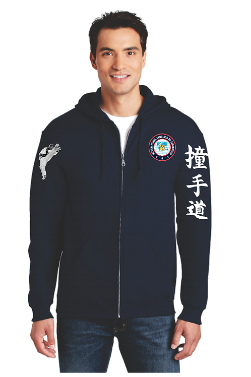 Official International Tang Soo Do Federation Zip Up Hoodie