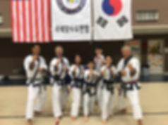 TAC Chairman Master Y. D. Kim, the Ince Family, Choong Jae Nim C. S. Kim
