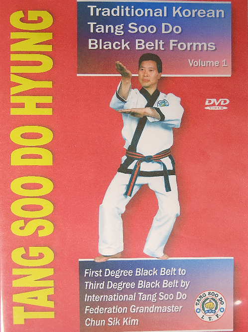 Tang Soo Do Hyung - Black Belt Forms, Volume 1