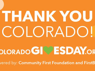 CO Gives Day was a HUGE success thanks to you!