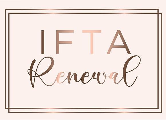 IFTA Renewal