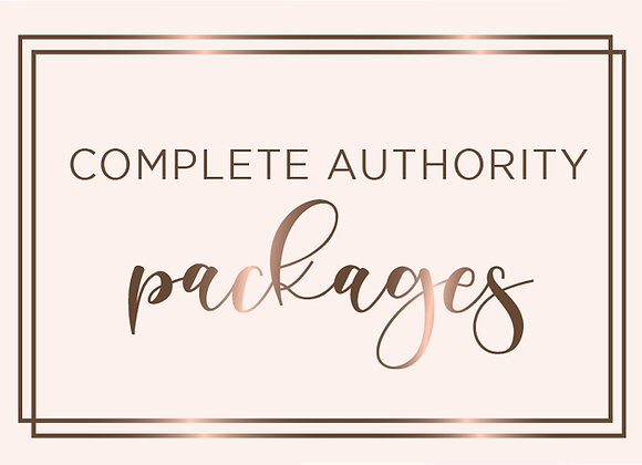 Complete Carrier Authority Package-Option A