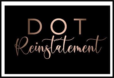 DOT Reactivation, DOT Reinstatemen, DOT NOT ACTIVE, FIX DO NUMBER