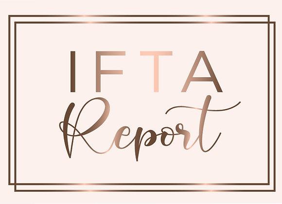 IFTA Quarterly Report