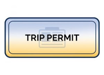 California Fuel Trip Permit