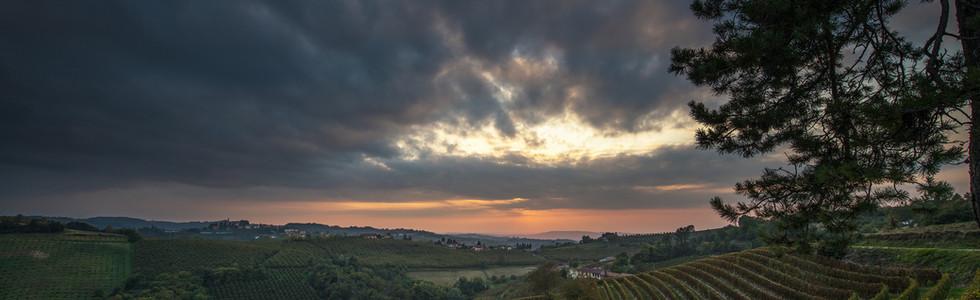 Gewitterstimmung im Piemont