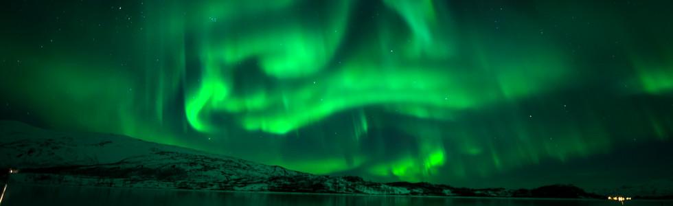 Nordlichter in Tromso, Norwegen