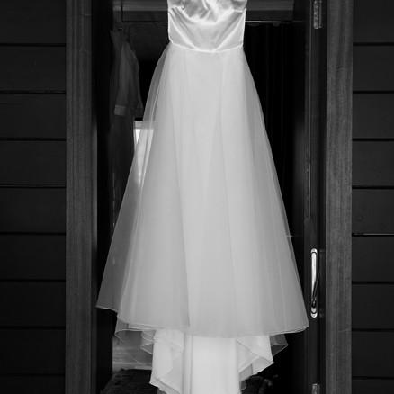 Brautkleid vorher