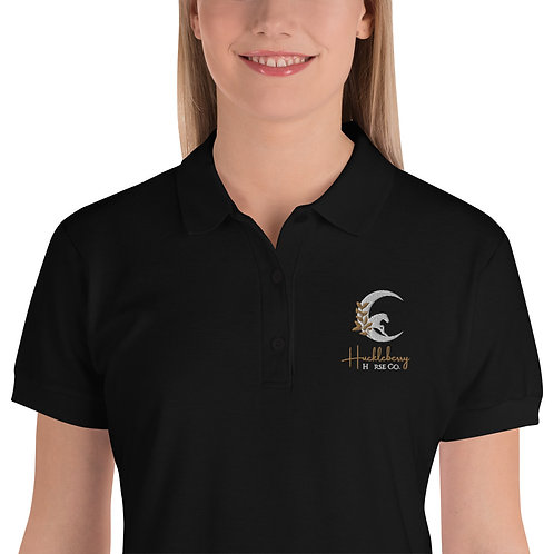 HHC Embroidered Women's Polo Shirt