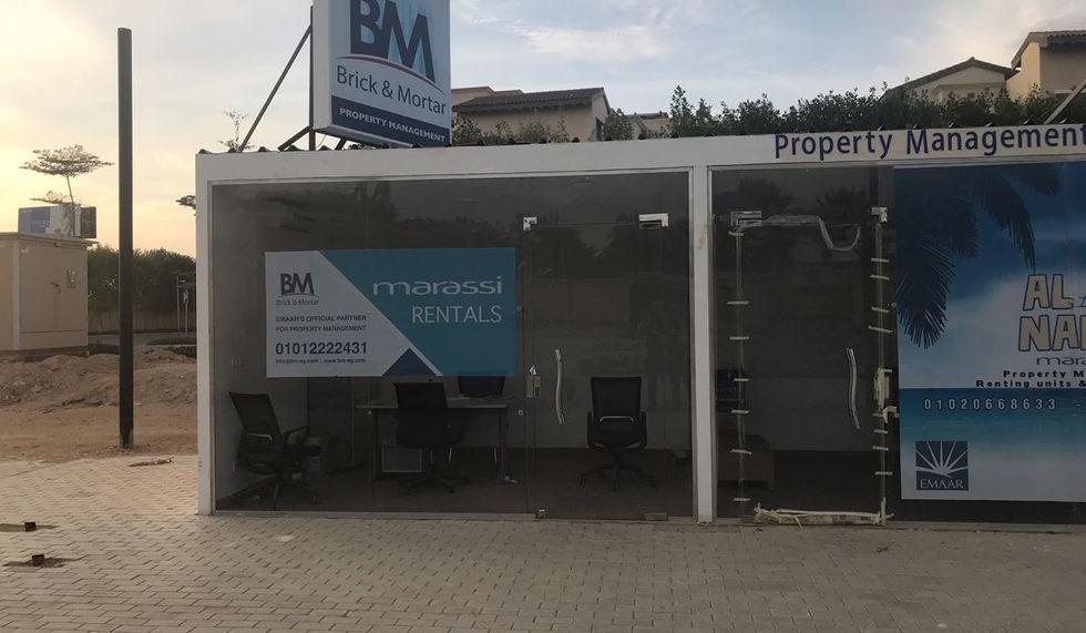 Brick & Mortar Booth in Marassi