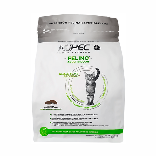 Nupec Felino Adulto Indoor 3 Kg