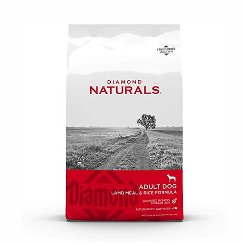 Diamond Naturals Lamb Meal and Rice Adult (9.07 ó 18.14kgs)
