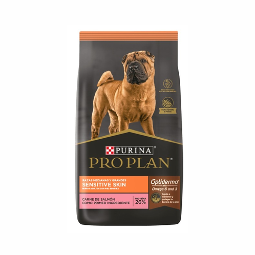 Purina Pro Plan Sensitive Skin Perro Adulto Raza mediana y grande (3 ó 13Kgs)