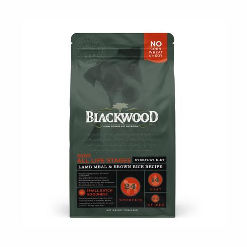 Blackwood all life stages 3000 cordero y arroz