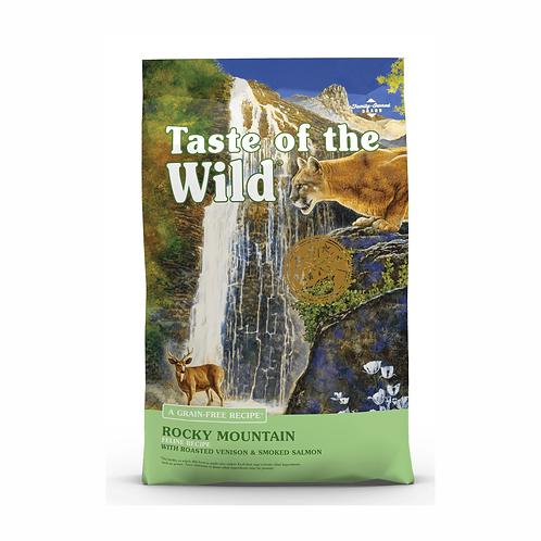 Rocky Mountain Feline 2.28 kg ó 6.3 kg (Venado asado y Salmón ahumado)