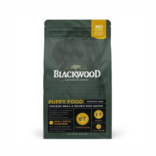 Blackwood cachorro pollo y arroz