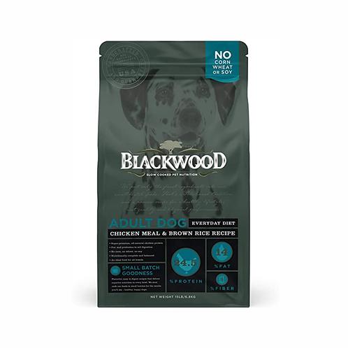 Blackwood perro adulto pollo y arroz
