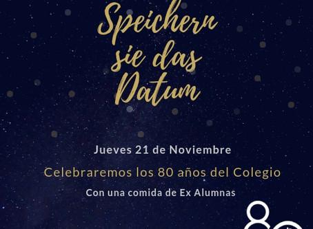Celebremos juntas los 80 años del Colegio