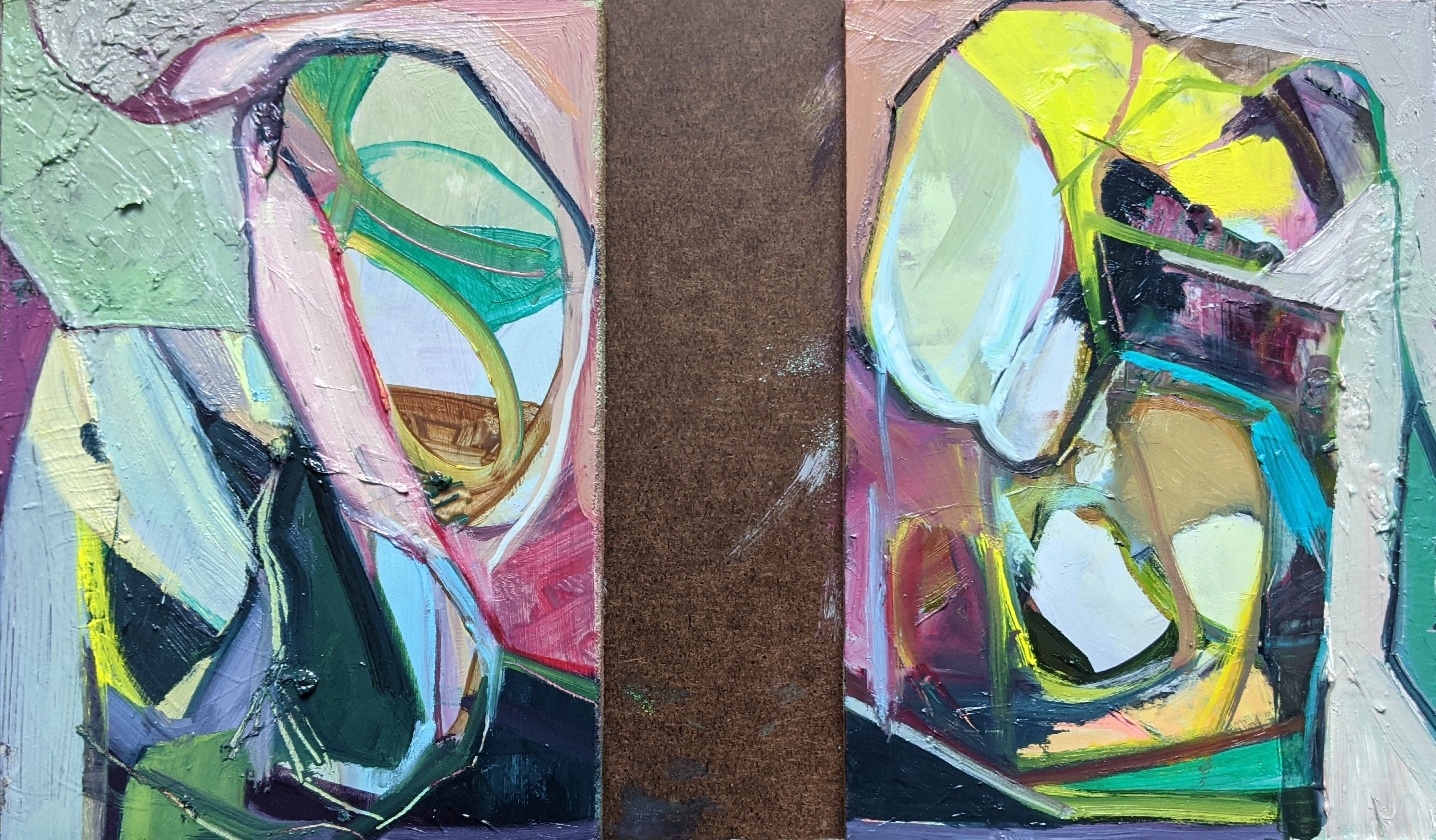 The Stories We Tell Ourselves (Diptych)