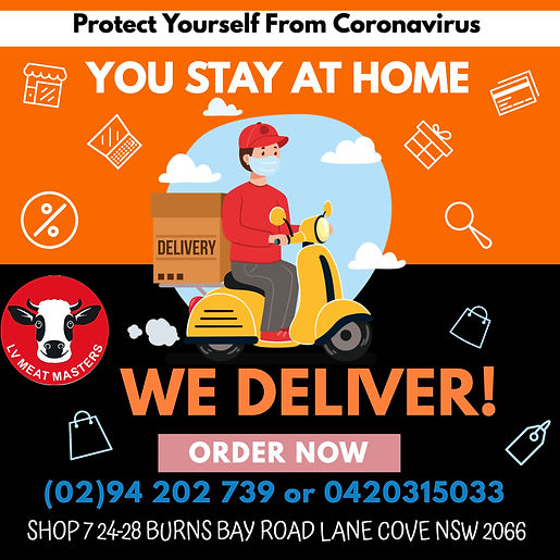 Call us we deliver to your door! Free same day delivery (min $70 order) Call up 9420 2739 or 0420315