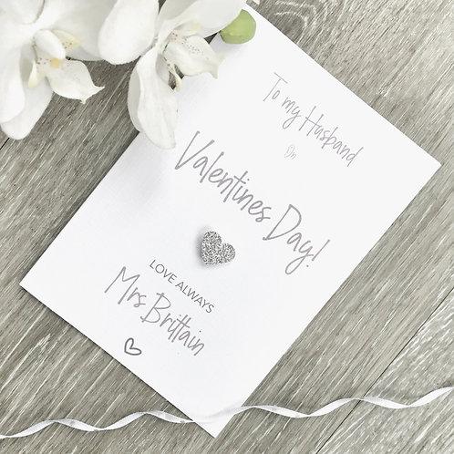 Valentine Card for Husband