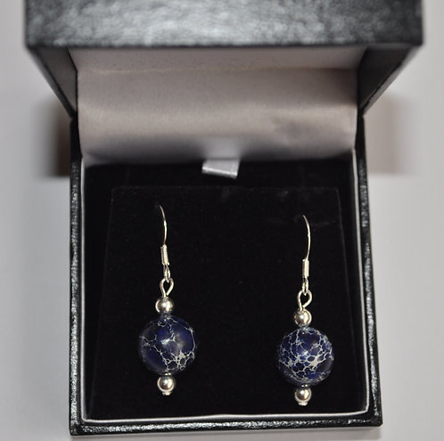 Royal Terra Jasper earrings