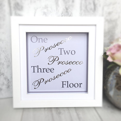 Prosecco Print Wall Art (1,2,3 Floor)
