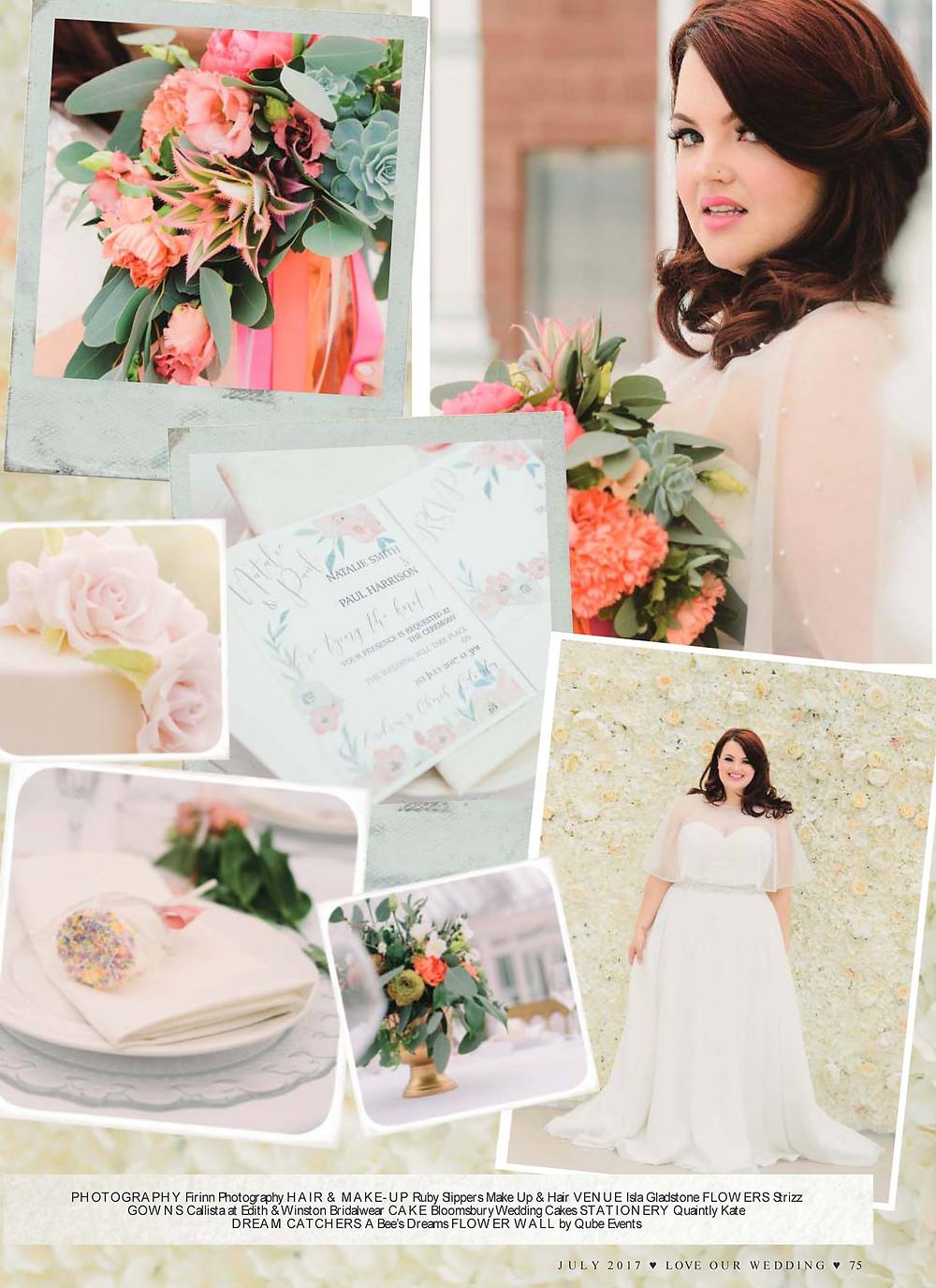 Love Our Wedding Magazine Editorial
