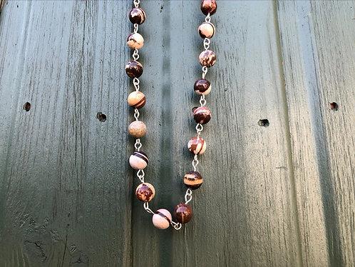 Malteser agate necklace