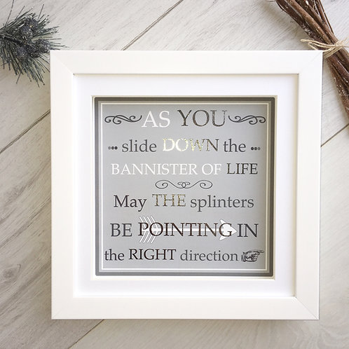 Bannister of Life Print