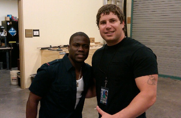 Backstage with Kevin Hart