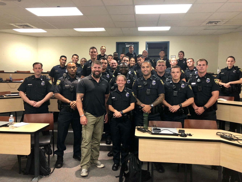 With Jacksonville Sheriff's Office Recruit Class 0719 - Jacksonville, FL