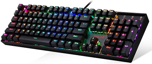 reddragon k551 rgb mitra rgb mechanical gaming keyboard