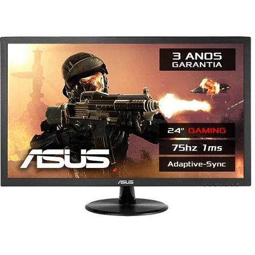 LED ASUS 24 VP248H VGA HDMI  FHD 75HZ 1MS TN EYE CARE