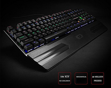 reddragon k560 hara mechanical gaming keyboard