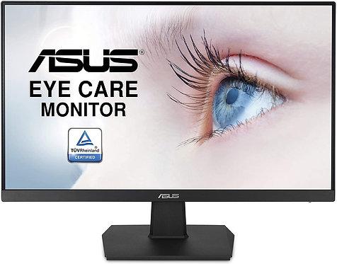 LED ASUS 23.8 VA24EHE VGA DVI HDMI  FHD 75HZ 5MS IPS ASYNC WM  EYE CARE FRAMELES