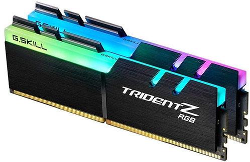 G.SKILL TridentZ RGB 16GB                            (2 x 8GB) DDR4 3200Mhz