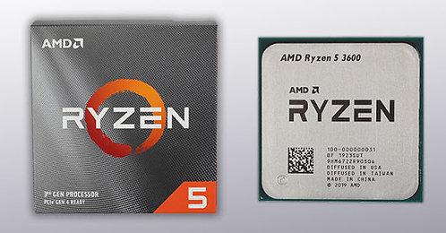 AMD RYZEN5 3600X 6-CORE , 12-THREAD TRAY