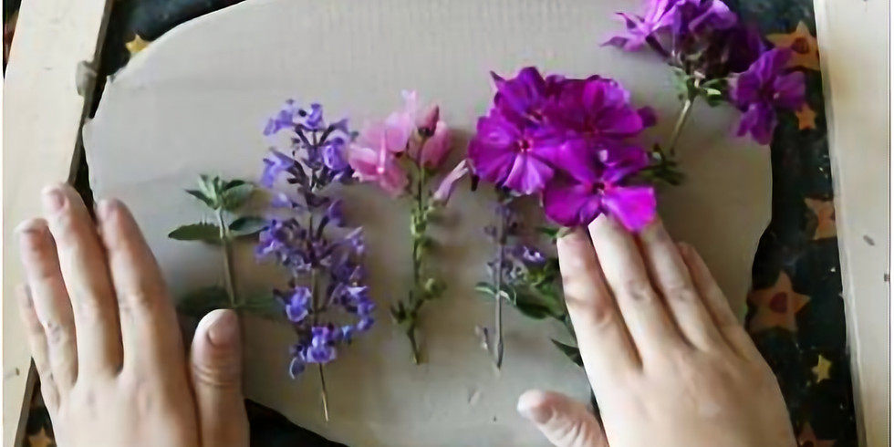 Flowers in Clay