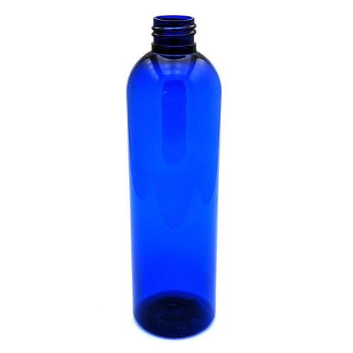 8oz Cobalt Blue  Pet Bullet Cosmo Round 24-410   SKU:BSB-074