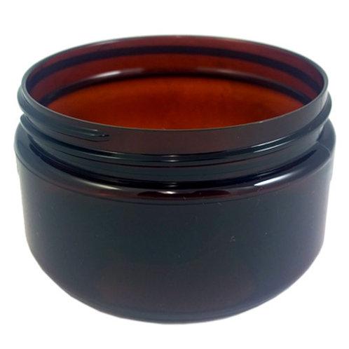 4oz Amber Pet Jar 70/400   SKU:BSJ-013