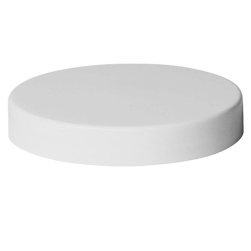 70/400 White All Smooth Cap Unlined   SKU:BSC-010