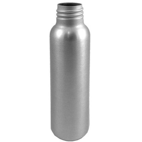 80ml Silver Metal Aluminium Bottle 24/410    SKU:BSB-029